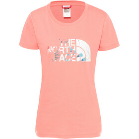 The North Face Easy Camiseta Manga Corta Mujer, spiced coral